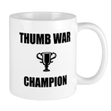 thumb war champ Mug