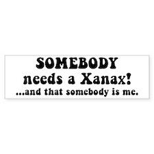 Xanax Bumper Sticker