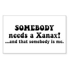 Xanax Decal