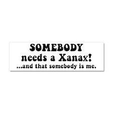 Xanax Car Magnet 10 x 3