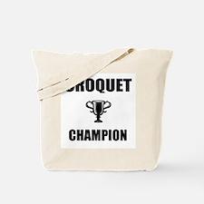 croquet champ Tote Bag