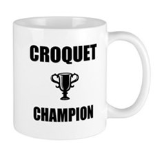 croquet champ Small Mug