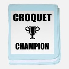 croquet champ baby blanket