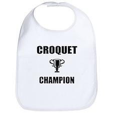 croquet champ Bib