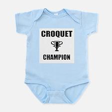 croquet champ Infant Bodysuit