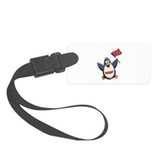 Norway Penguin Luggage Tag