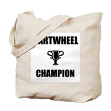 cartwheel champ Tote Bag