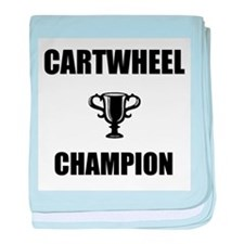 cartwheel champ baby blanket