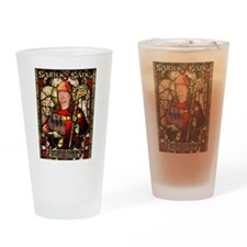 Saint the Sane Pint Glass