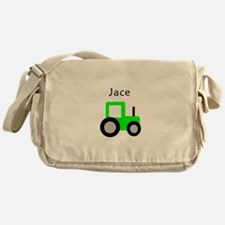 Jace Light Green Tractor Messenger Bag