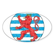 Luxembourg Roundel Decal