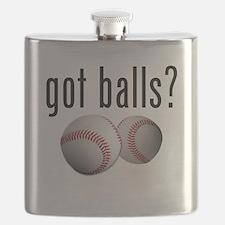 Got Balls? Baseball Flask