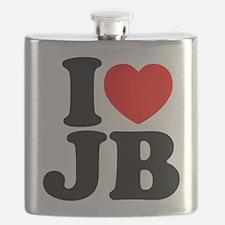 I Love Jam Bands Flask