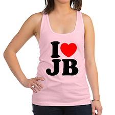 I Love Jam Bands Racerback Tank Top