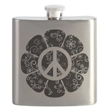 Peace Flower Flask
