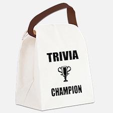 trivia champ Canvas Lunch Bag