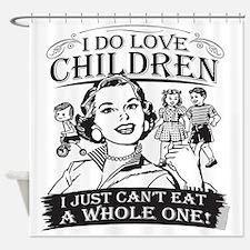 children-3-darks.png Shower Curtain