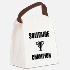 solitaire champ Canvas Lunch Bag