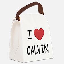 I heart CALVIN Canvas Lunch Bag