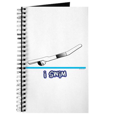 i swim (boy) black suit Journal