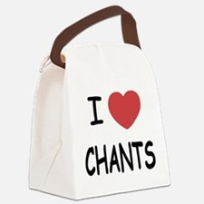 I heart chants Canvas Lunch Bag