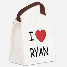 I heart RYAN Canvas Lunch Bag