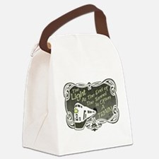 train-darks.png Canvas Lunch Bag