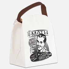 MATH-LIGHTS.png Canvas Lunch Bag