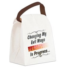evil-ways.png Canvas Lunch Bag