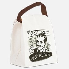 trouble-darks.png Canvas Lunch Bag