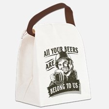 all-your-beers-darks.png Canvas Lunch Bag