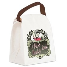 honky-tonk-lights.png Canvas Lunch Bag