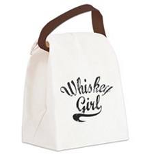 Whiskey Girl Canvas Lunch Bag