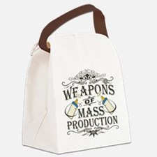 weapons-dark.png Canvas Lunch Bag
