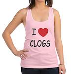 CLOGS.png Racerback Tank Top