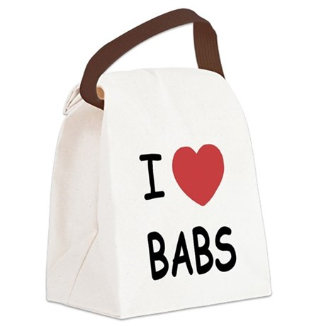 BABS.png Canvas Lunch Bag