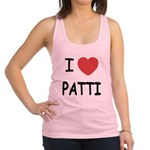 PATTI.png Racerback Tank Top
