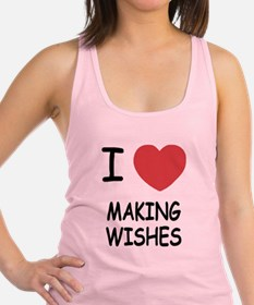 MAKING_WISHES.png Racerback Tank Top