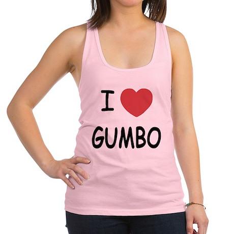 GUMBO.png Racerback Tank Top