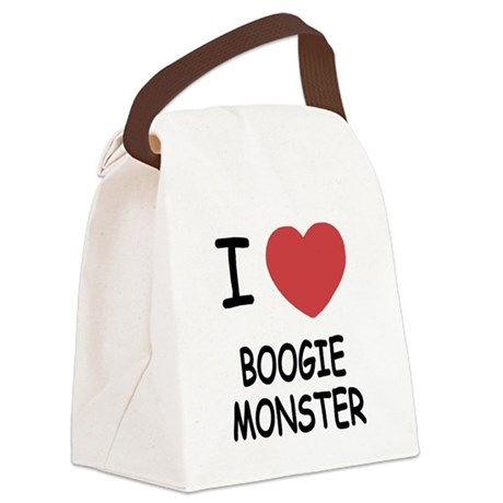 BOOGIE_MONSTER.png Canvas Lunch Bag