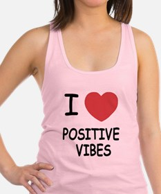 POSITIVE_VIBES.png Racerback Tank Top