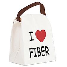 FIBER.png Canvas Lunch Bag