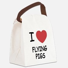 FLYING_PIGS.png Canvas Lunch Bag