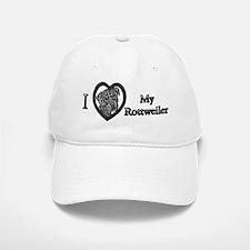 B@W Rottweiler 1 Baseball Baseball Cap
