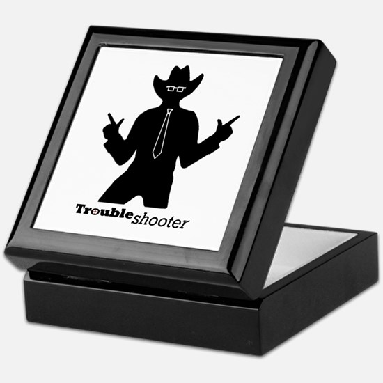 Office Troubleshooter Keepsake Box