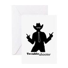 Office Troubleshooter Greeting Card