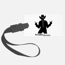 Office Troubleshooter Luggage Tag