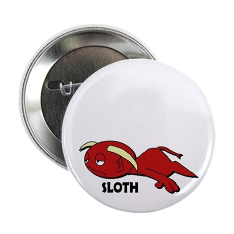 "Sloth 2.25"" Button (10 pack)"