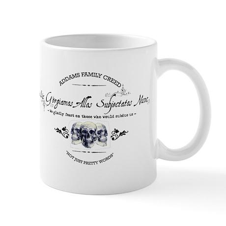 Addams Family Creed Mug