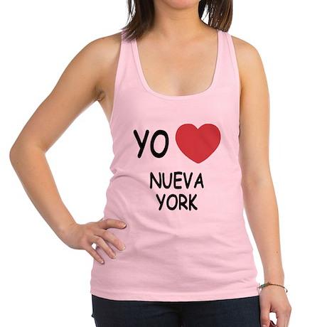NUEVA_YORK.png Racerback Tank Top